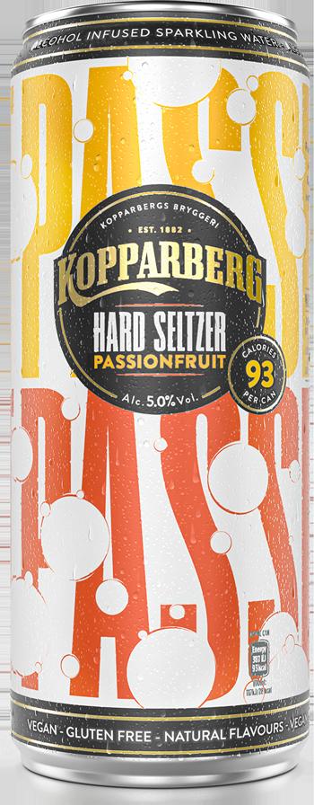 Kopparberg Hard Seltzer - Passionfruit Can Image